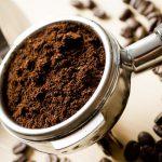 Defumação com pó de café