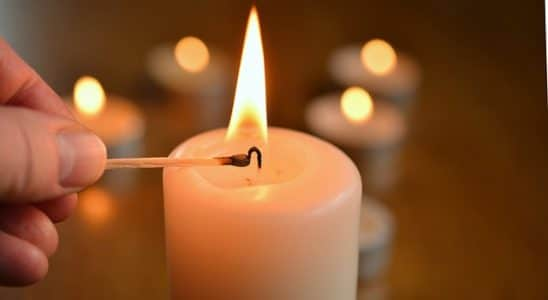 quando a vela de sete dias apaga antes de terminar significado espiritual